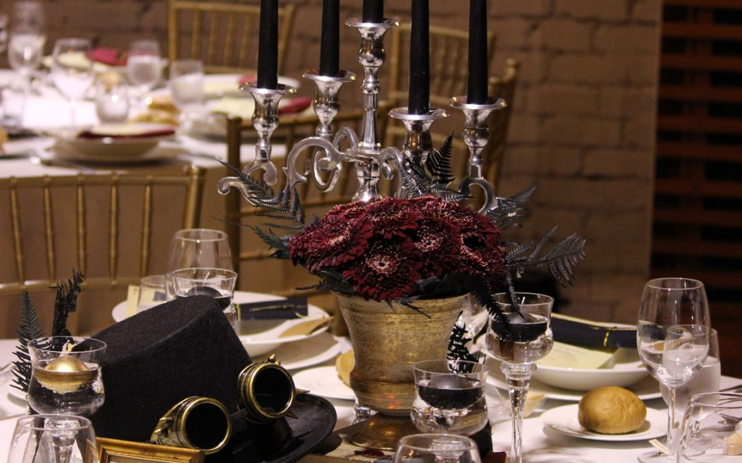 STEAMPUNK WEDDING | DECOR